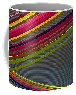 Coffee Mug featuring the photograph Color Strips by Stuart Litoff