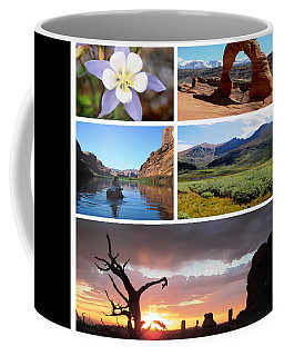 Colorado Utah Calendar 2018 Coffee Mug