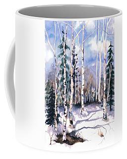 Colorado Aspens 2  Coffee Mug by Barbara Jewell