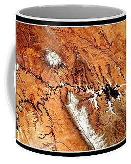 Coffee Mug featuring the photograph Colorado Plateau Nasa by Rose Santuci-Sofranko