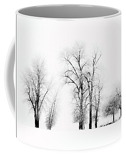 Frosted Trees 2 Coffee Mug