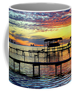 Colored Glass Coffee Mug