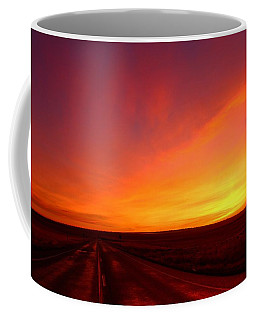 Coffee Mug featuring the photograph Colored Morning by Lynn Hopwood