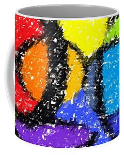 Colorful Abstract 3 Coffee Mug