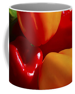Coffee Mug featuring the photograph Colorful Bells by Gary Holmes
