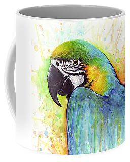Macaw Watercolor Coffee Mug