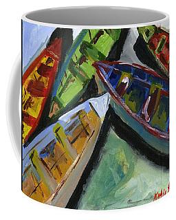 Colorful Boats Coffee Mug