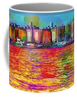 Colorful Coney Island Coffee Mug
