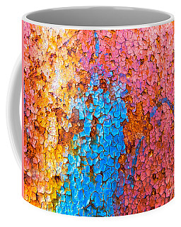 Colorful Cracks Coffee Mug