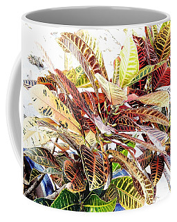 Colorful - Croton - Plant Coffee Mug