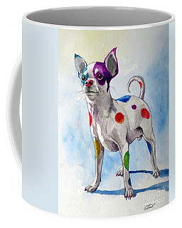 Colorful Dalmatian Chihuahua Coffee Mug