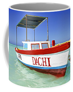 Colorful Fishing Boat Of The Caribbean  Coffee Mug