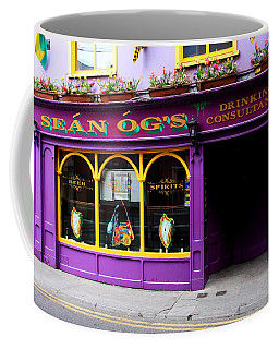 Colorful Irish Pub Coffee Mug