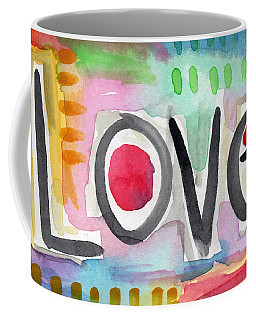 Colorful Love- Painting Coffee Mug