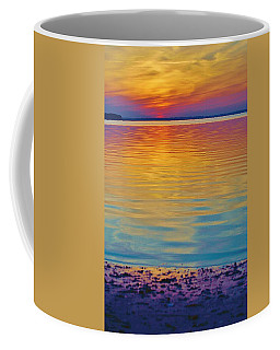 Colorful Lowtide Sunset Coffee Mug
