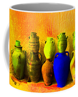 Colorful Pottery Coffee Mug