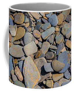 Colorful River Rocks Coffee Mug by Photographic Arts And Design Studio