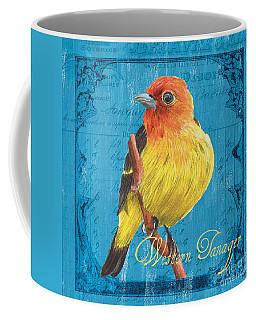 Colorful Songbirds 4 Coffee Mug