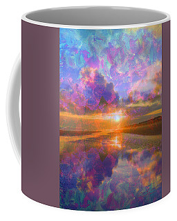 Colorful Sunset By Jan Marvin Coffee Mug