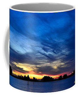 Coffee Mug featuring the photograph Colorful Sunset by Richard Zentner