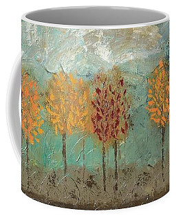 Colorful Trees Coffee Mug