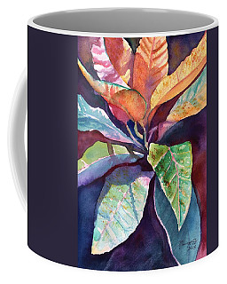 Colorful Tropical Leaves 3 Coffee Mug