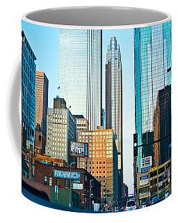 Colorful Urban Landscape Coffee Mug by Susan Stone