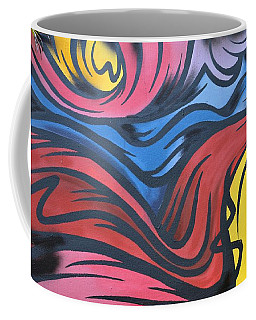 Coffee Mug featuring the photograph Colorful Urban Street Art From Singapore by Imran Ahmed