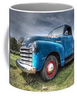 Colorful Workhorse - 1953 Chevy Truck Coffee Mug
