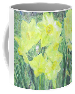 Colorful  Yellow Flowers Coffee Mug