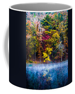 Colors In Early Morning Fog Coffee Mug by Parker Cunningham