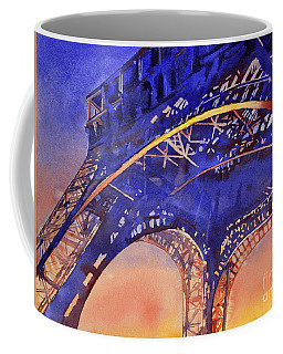 Colors Of Paris- Eiffel Tower Coffee Mug by Ryan Fox