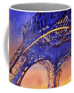 Colors Of Paris- Eiffel Tower Coffee Mug