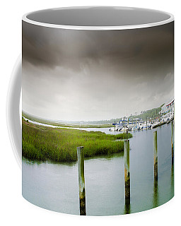 Coffee Mug featuring the photograph Colors Of The Coast by Steven Santamour