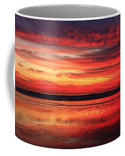 Coffee Mug featuring the photograph Encinitas Twilight Tide by John F Tsumas