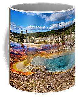 Colors Of Yellowstone National Park Coffee Mug