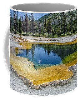 Colors Of Yellowstone Coffee Mug