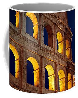 Colosseum And Moon Coffee Mug