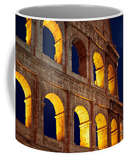 Colosseum And Moon Coffee Mug