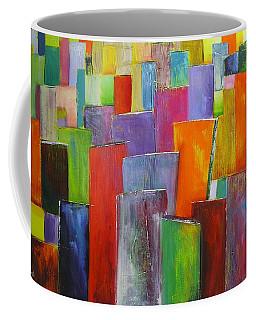Colour Block 3 Painting Coffee Mug