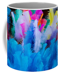 Coloured Easter Feathers Coffee Mug