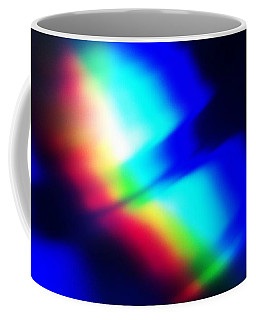 Coffee Mug featuring the photograph Coloured Light by Martin Howard
