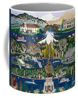 Columbia River Gorge Coffee Mug by Jennifer Lake