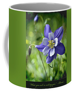Columbine Card  Coffee Mug