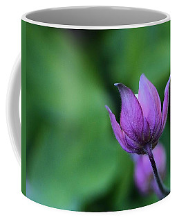 Columbine Flower Bud Coffee Mug