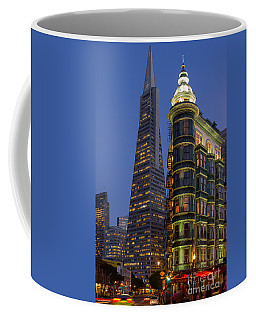 Columbus And Transamerica Buildings Coffee Mug