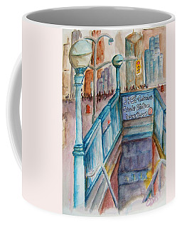 Columbus Circle Subway Stop Coffee Mug
