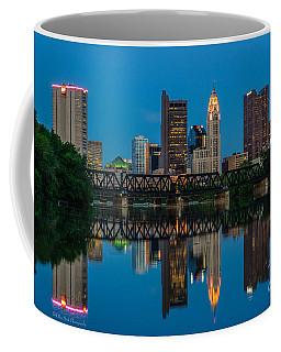 Columbus Ohio Night Skyline Photo Coffee Mug