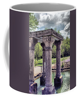 Columns In The Water Coffee Mug