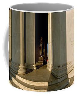 Columns Of A Memorial, Jefferson Coffee Mug